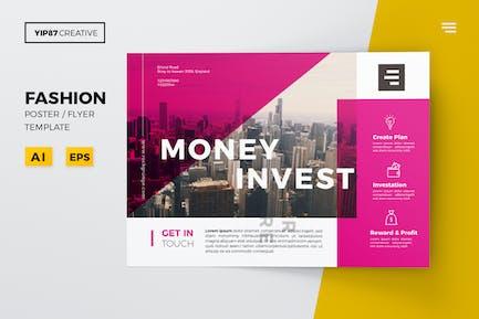 Money Invest Flyer