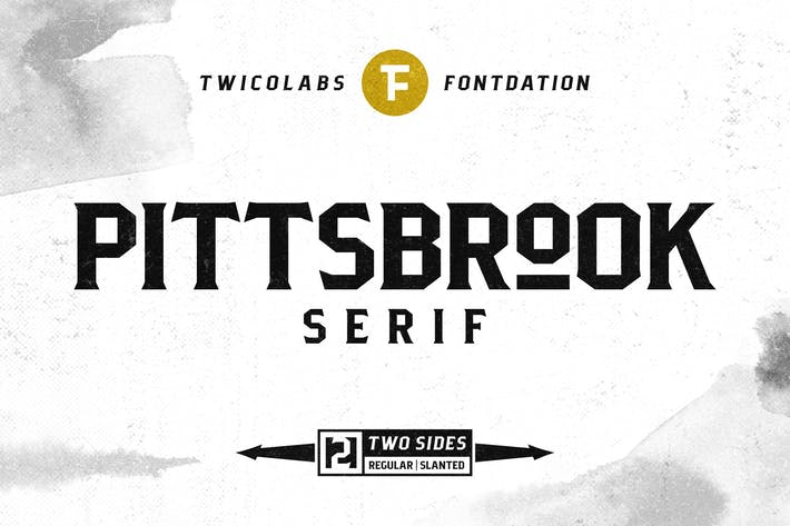 Thumbnail for Pittsbrook Serif