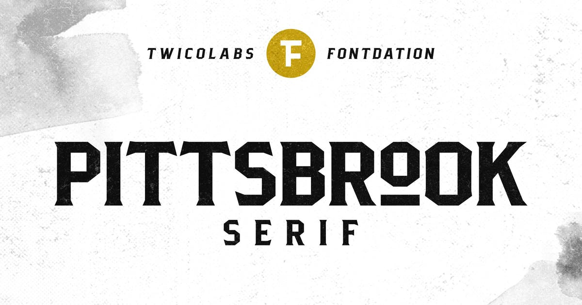 Download Pittsbrook Serif by twicolabs