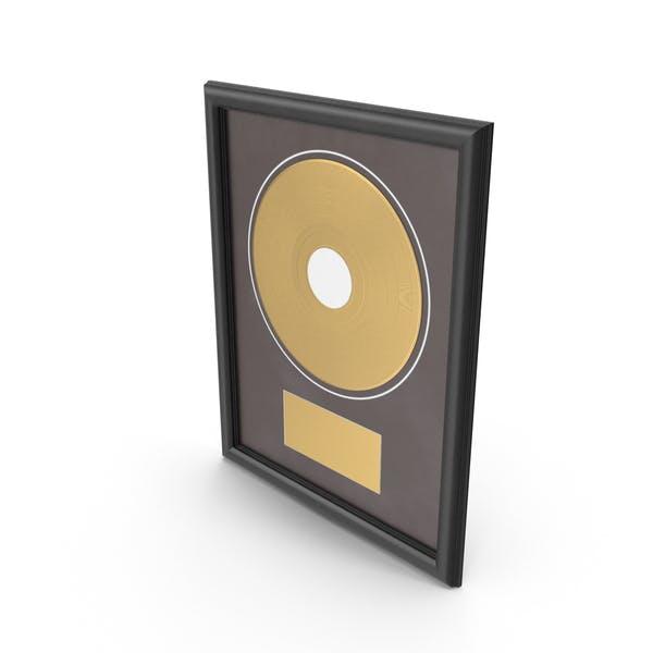 Gold Record Award