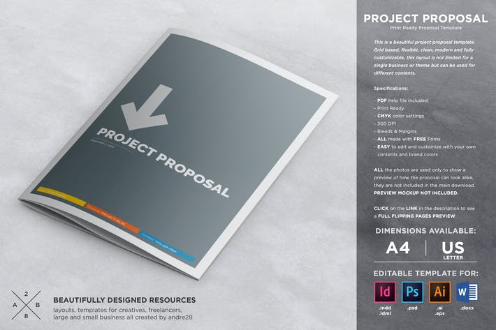 Cover Image For Proposal Contract & Invoice Template