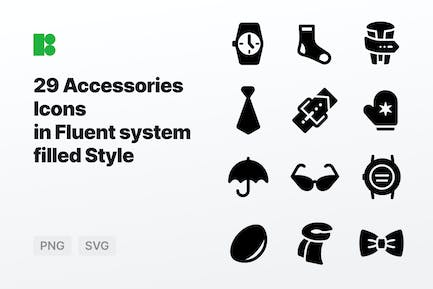 Fluent system filled - Accessories