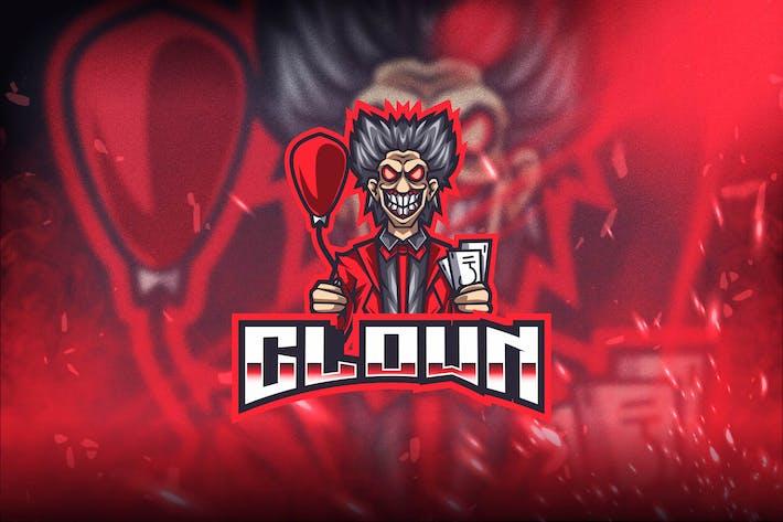 Thumbnail for Clown Esport Logo Template