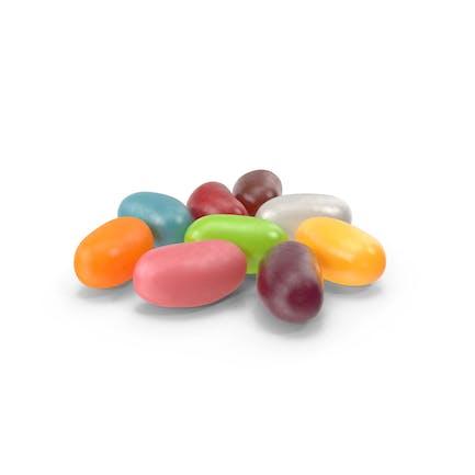 Kleiner Haufen Jelly Beans