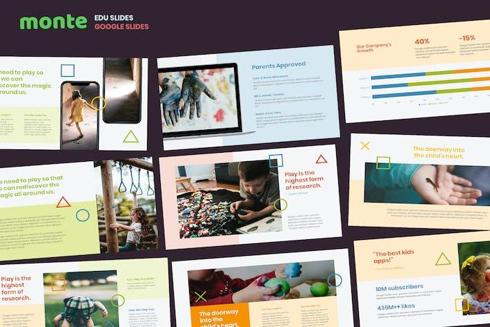 Thumbnail for Monde - Education Theme Google Slides