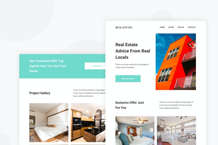 Thumbnail for RealEstate - Email Newsletter