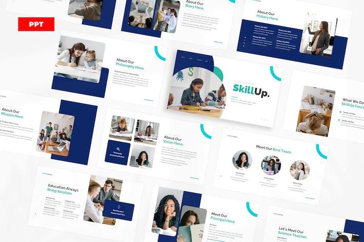 Онлайн-курс SkiLlup - PowerPoint UP