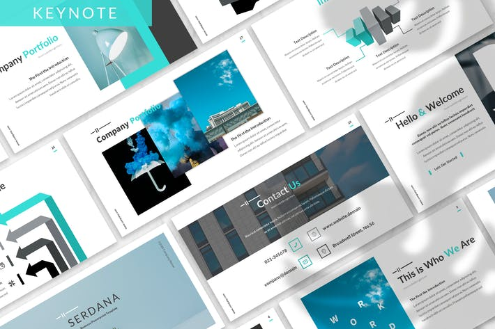 Thumbnail for Serdana - Business Keynote Template