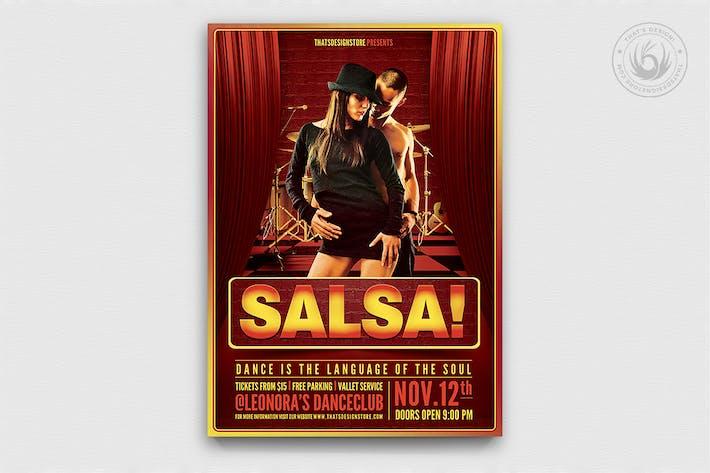 Thumbnail for Salsa Caliente Flyer Template