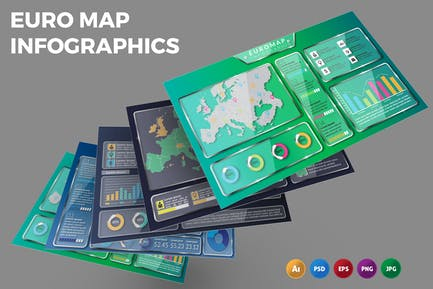 Euro Map – Infographics Design