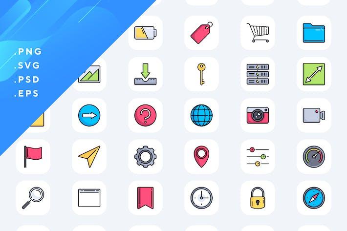 50 UI Icons