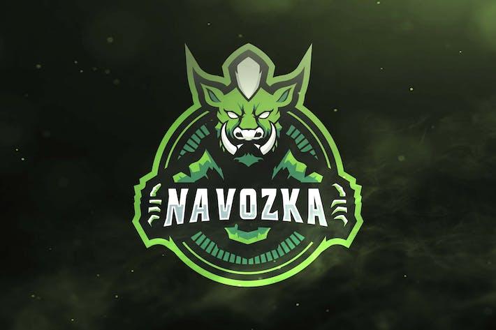 Thumbnail for Pig Green Sport and Esports Logos