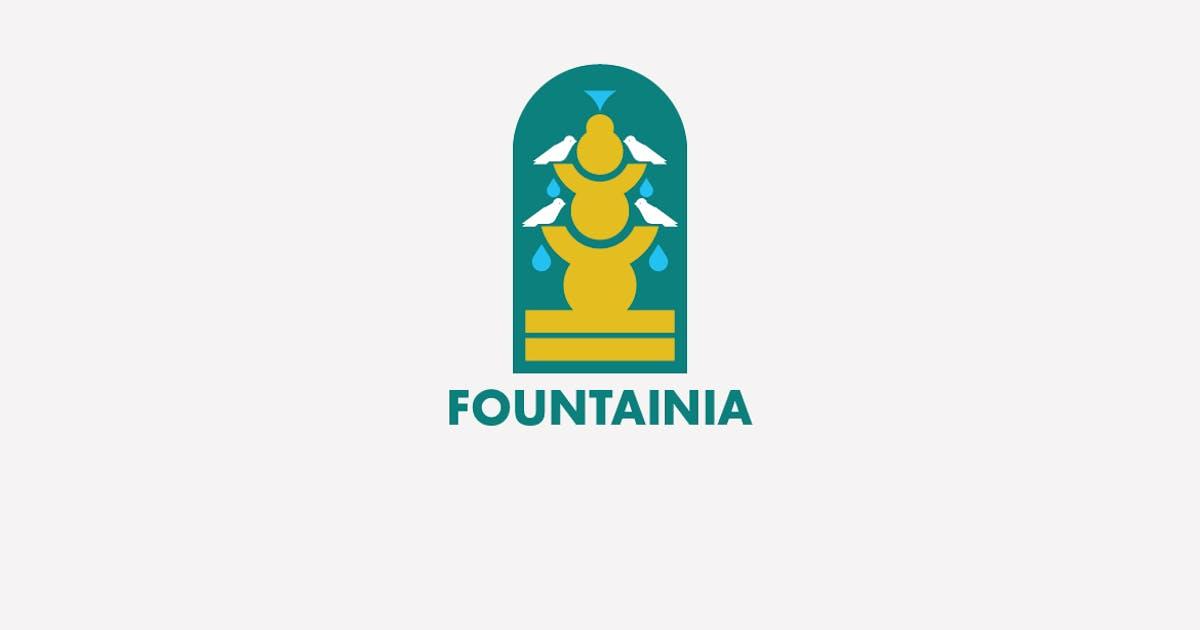 Download Fountainia Logo Template by Ijajil