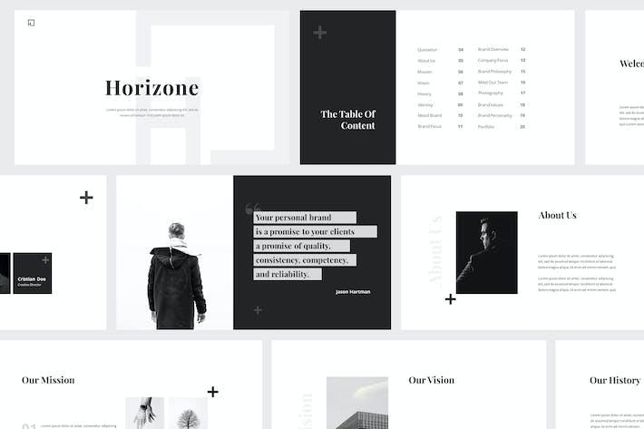 Thumbnail for Horizone Branding Guidelines Powerpoint