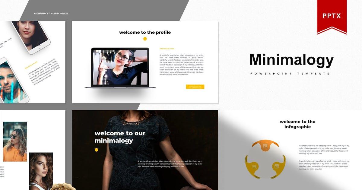 Download Minimalogy   Powerpoint Template by Vunira