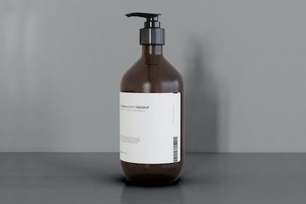 Spender Bottle Mockup