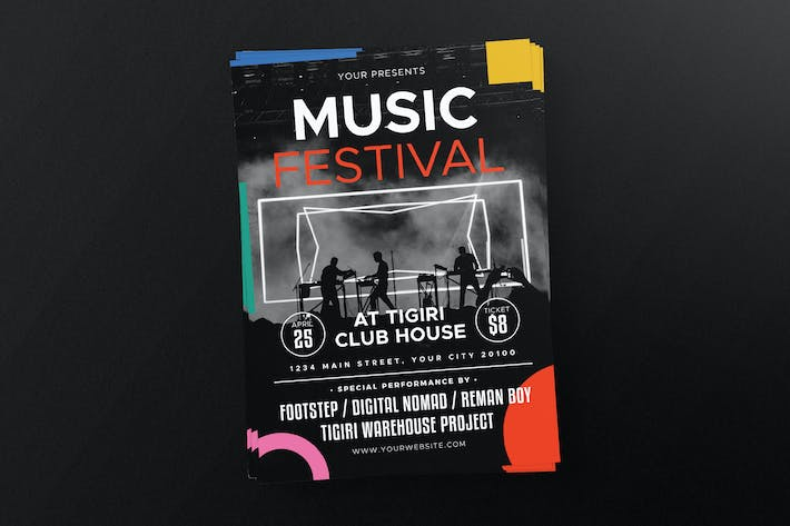Thumbnail for Music Festival Flyer