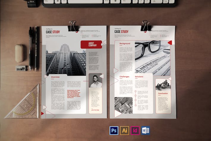 Thumbnail for Case Study Template Vol.5