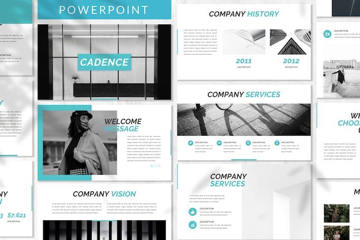 Thumbnail for Cadence - Plantilla de PowerPoint empresarial