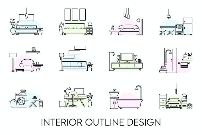 Thumbnail for Interior Outline