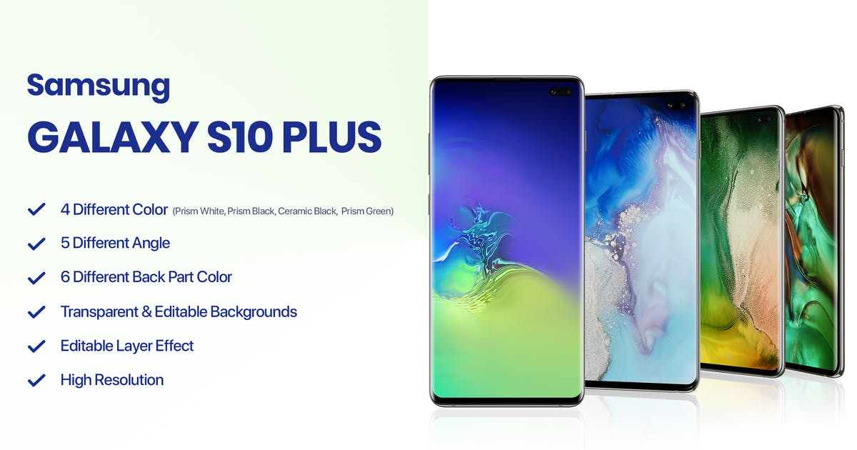 Download Samsung Galaxy S10 Plus Mockup by tunerpixel