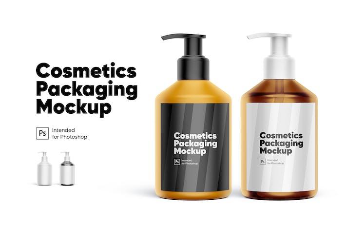 Thumbnail for Kosmetik Verpackung Mockup