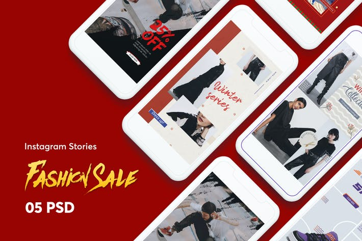 Thumbnail for Creative Fashion Sale Instagram Stories