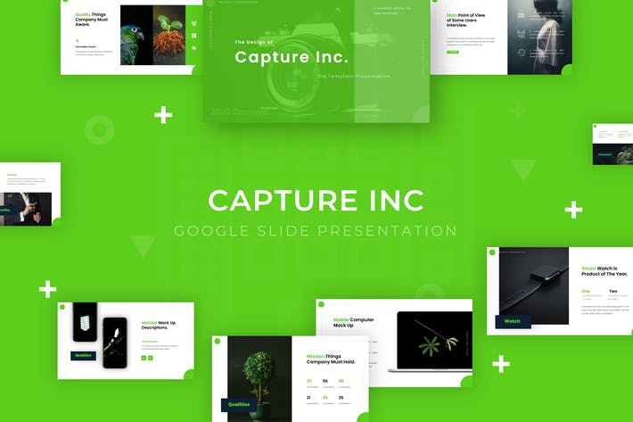 Thumbnail for Capture Inc - Google Slide Template
