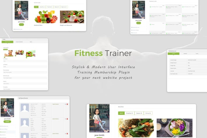 Thumbnail for Fitness Trainer- Training Membership Plugin