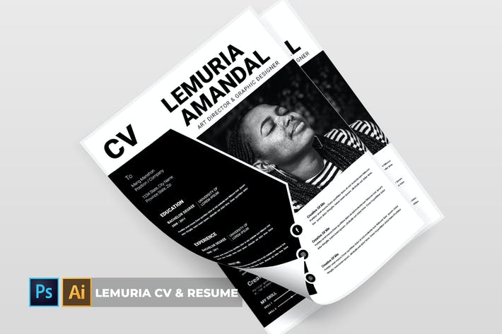 Thumbnail for Lemuria | CV & Resume