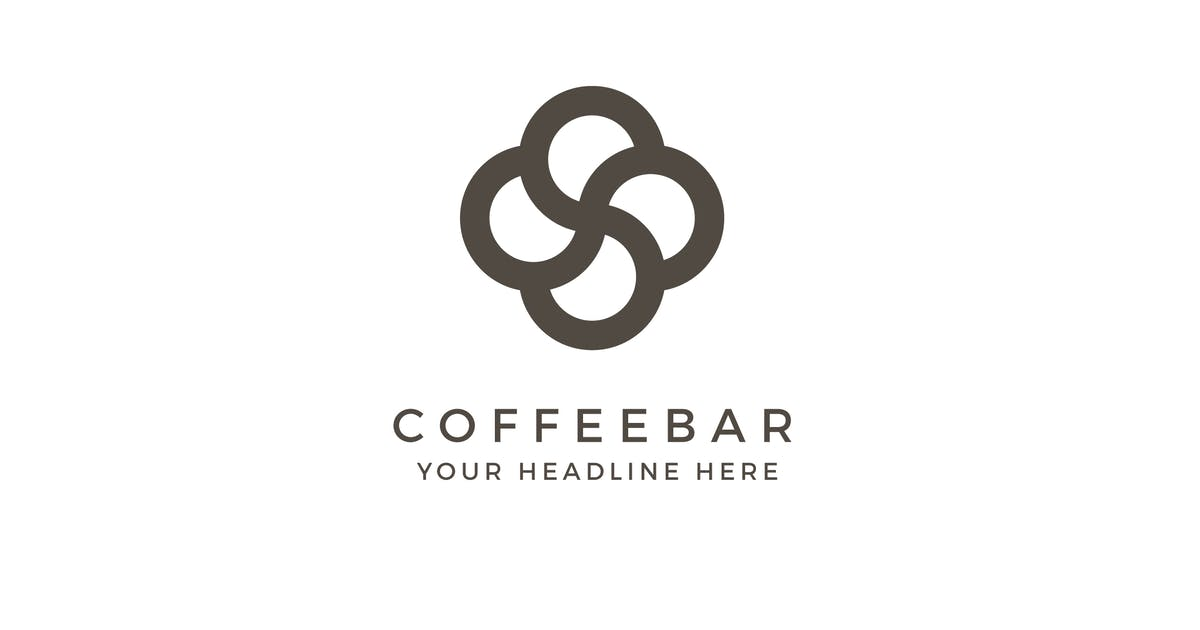 Download Coffee Bar Logo Template by MuseFrame