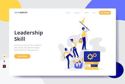 Leadership Skill - Landing Page