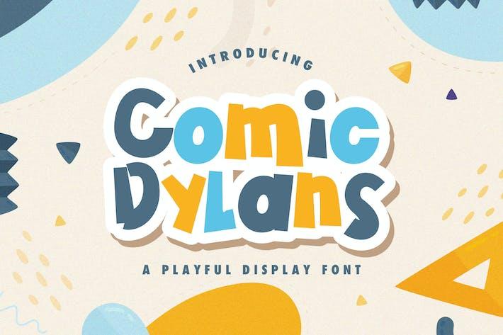 Thumbnail for Comic Dylans - Fuente de visualización juguetona