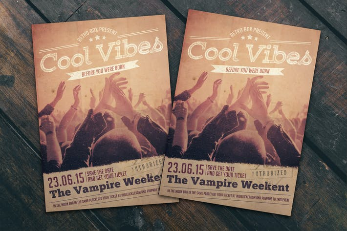 Cover Image For Cool Vibes Flyer Poster