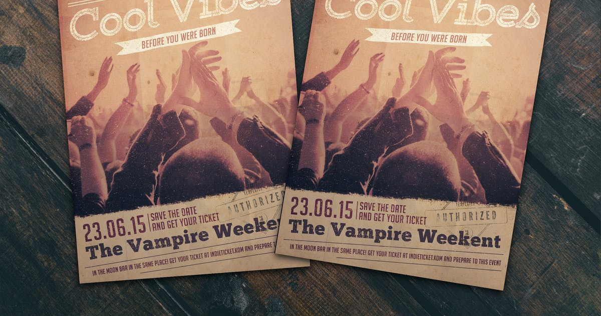Download Cool Vibes Flyer Poster by Unknow