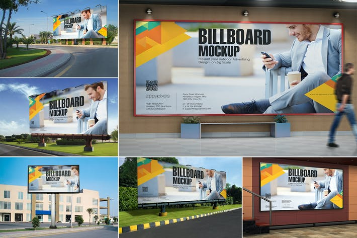 Thumbnail for 7 Billboard Mockups