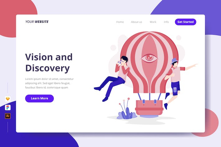 Thumbnail for Vision and Discovery - Landing Page