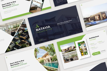 Batavia- Real Estate Google Slide Templates
