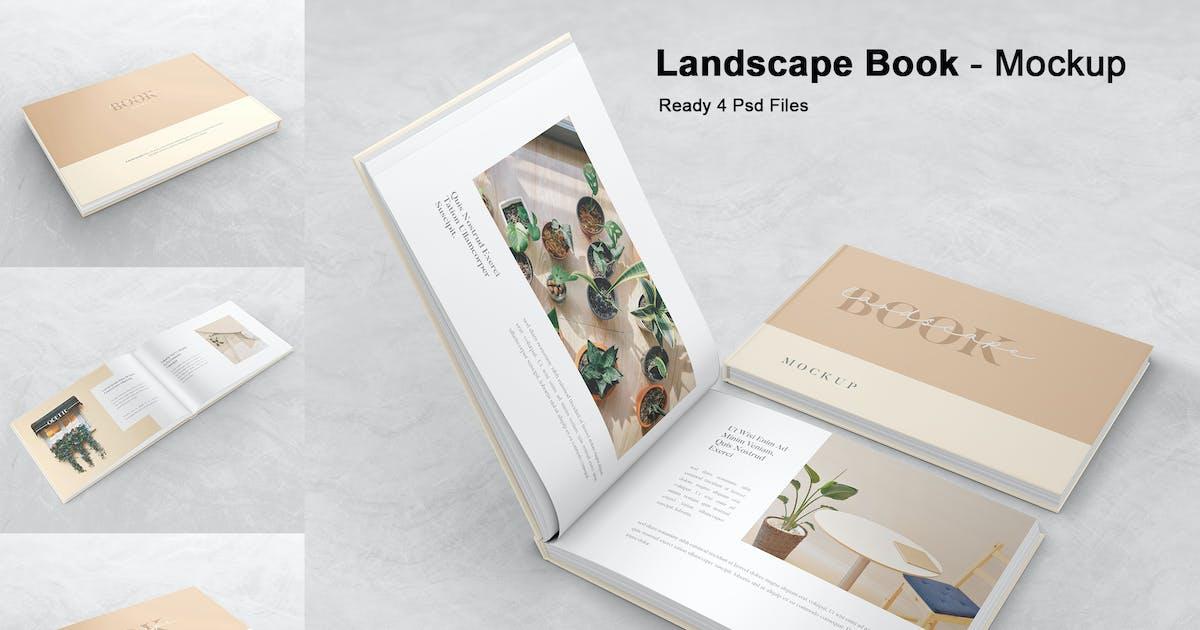 Download Landscape Book / Magazine - Mockup Vol. 3 by GraphicGata