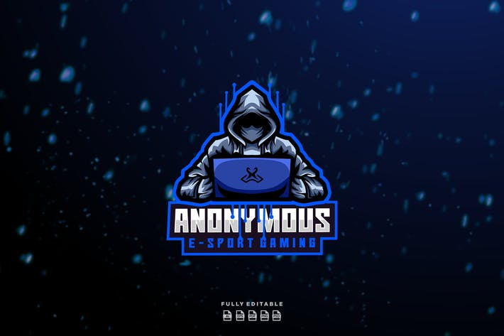 Thumbnail for Anonymous E-sport Gaming Logo