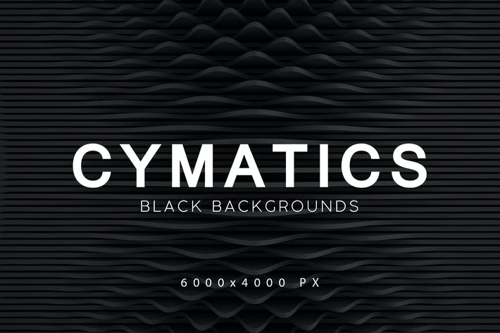 Thumbnail for Cymatics Black Backgrounds 2