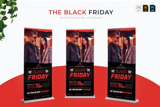 Black Friday | Roll Up Banner