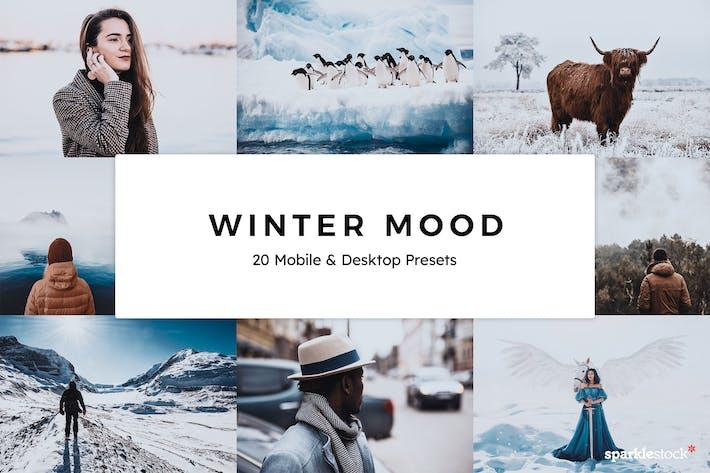 Thumbnail for 20 зимних настроений Пресеты Lightroom и LUT