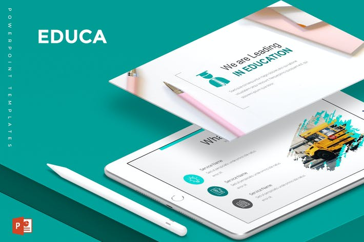 Thumbnail for Educa - Powerpoint Template