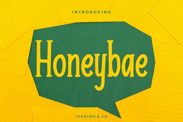 Honeybae a Fun Display Font