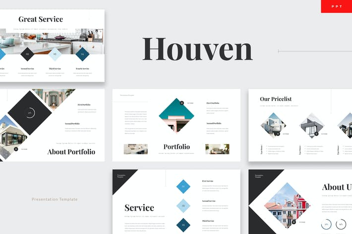 Houven - Real Estate Powerpoint Template