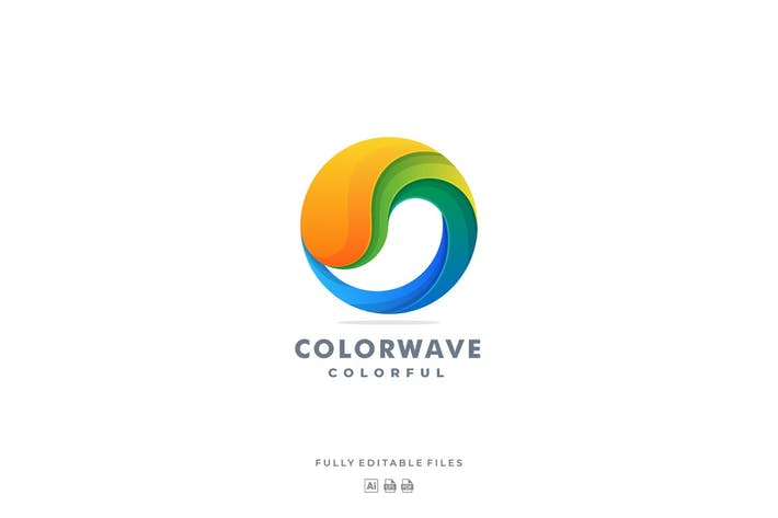 Thumbnail for Abstract Wave Colorful logo