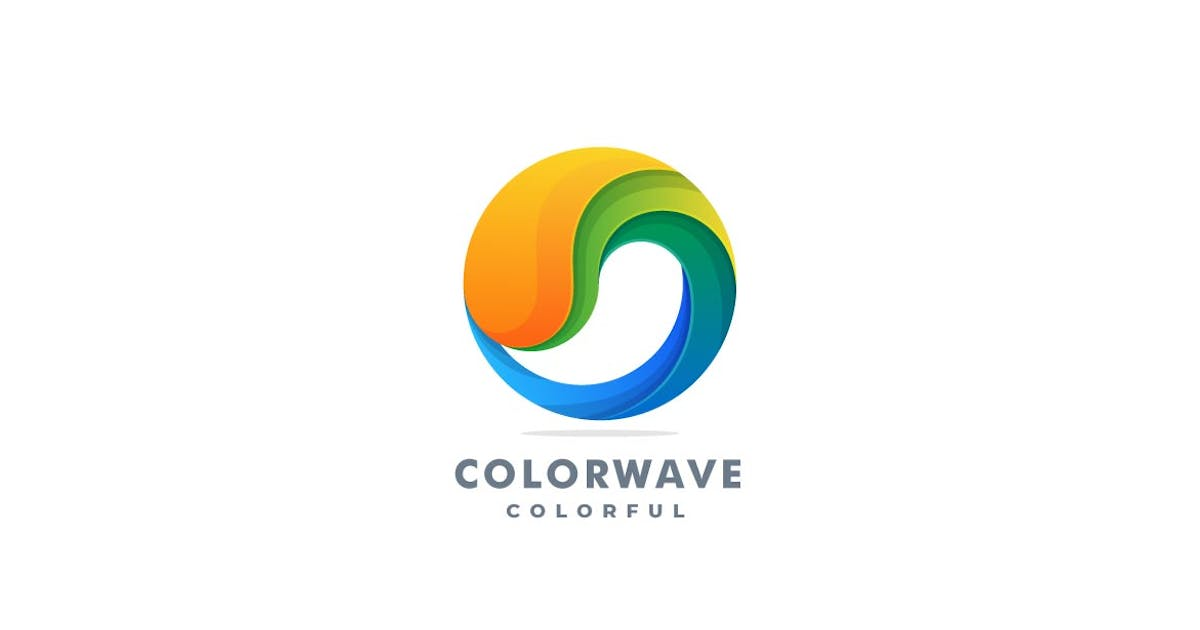 Download Abstract Wave Colorful logo by ivan_artnivora