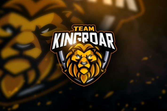 Thumbnail for Team Kingroar - Mascot & Esport Logo
