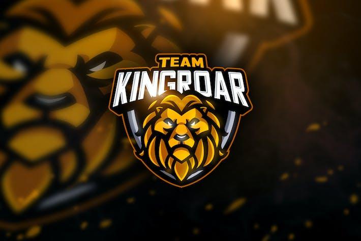 Cover Image For Team Kingroar - Mascot & Esport Logo